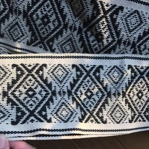 Other - Argentinian Cotton Sash - Patterned Woven Band